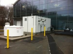 Backus Hospital Generator