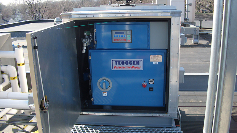 Fairfield Police Station Tecogen Cogeneration