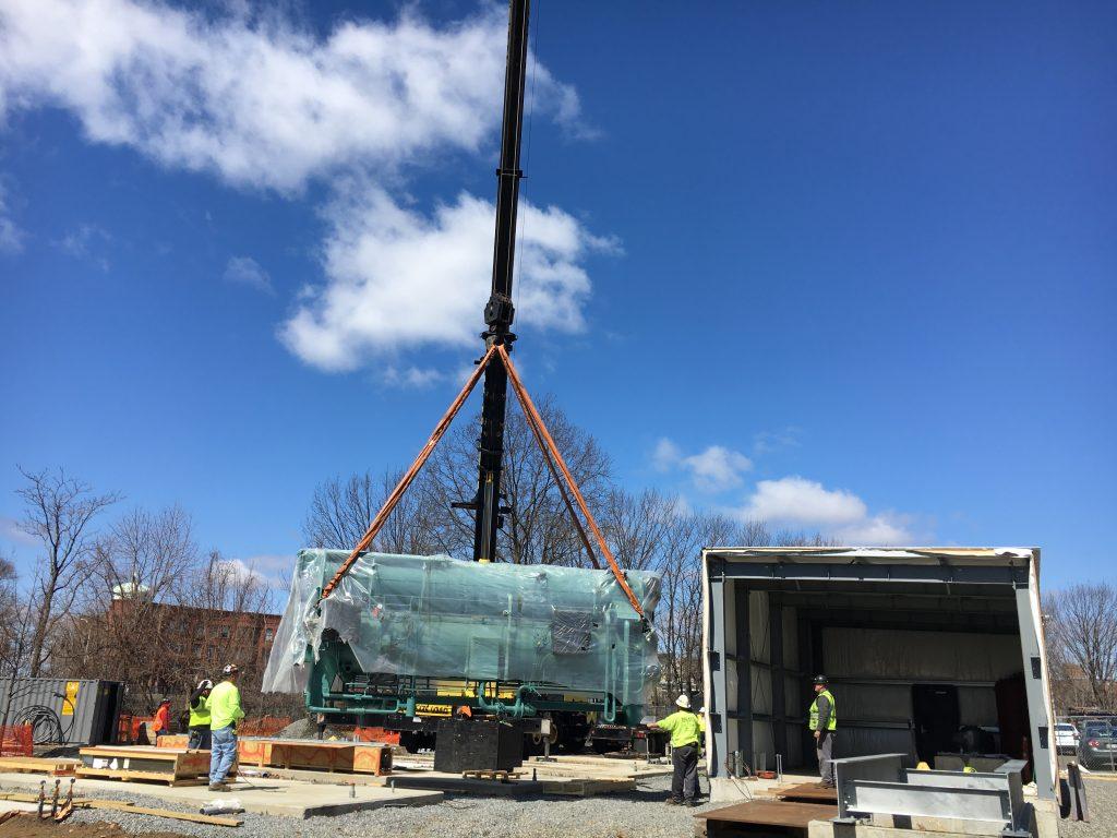 Bridgeport Microgrid Cogeneration Installation