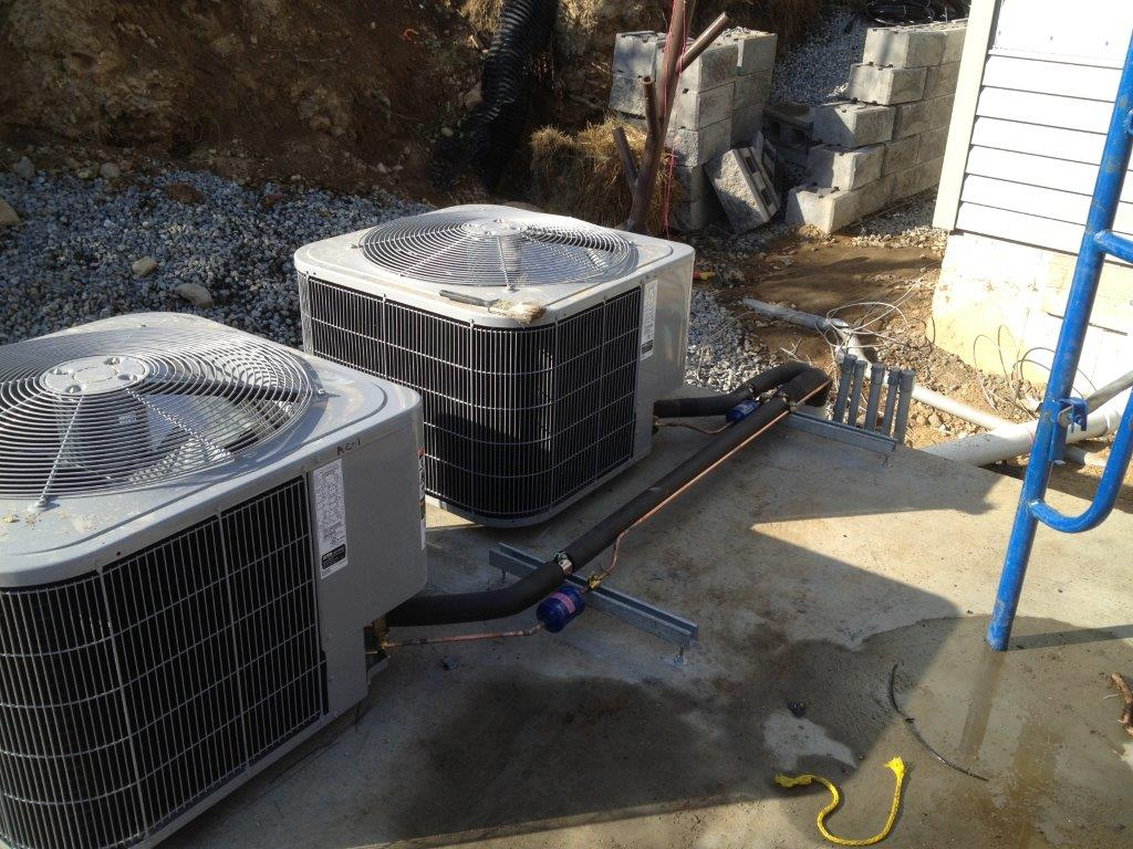 Cell site A/C Upgrades
