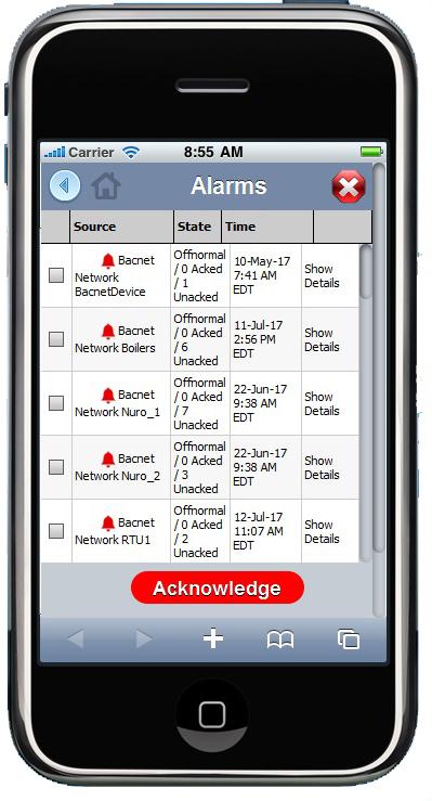 Building Controls App