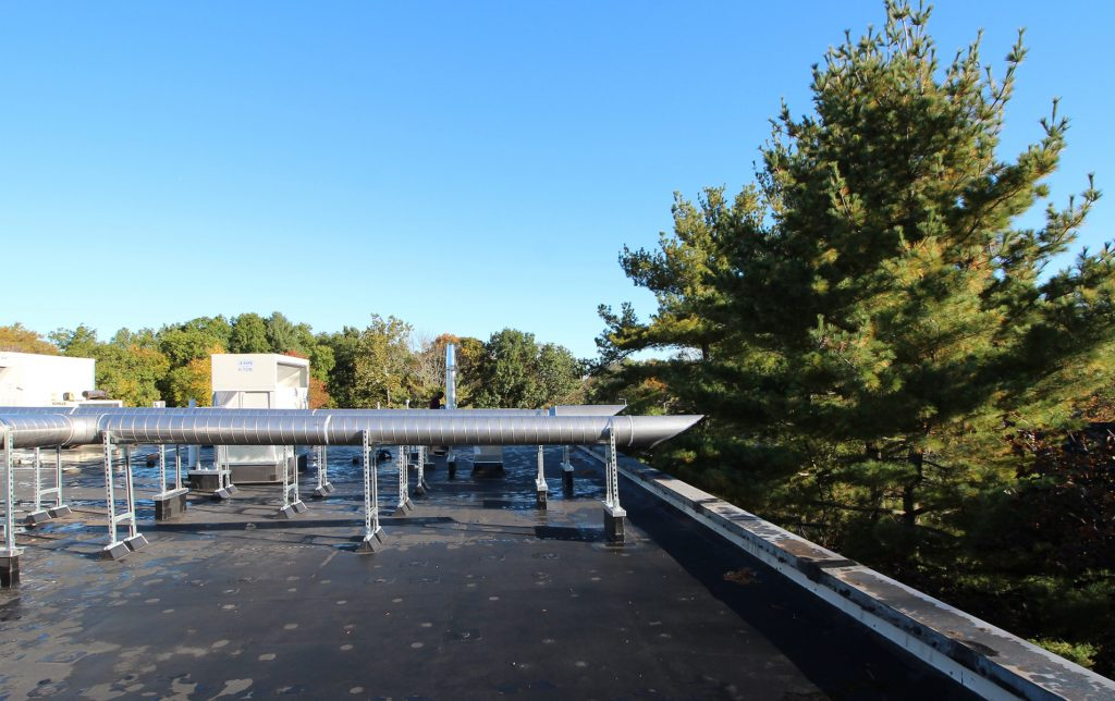 The Endoscopy Center, Hamden CT Stainless Steel Duct