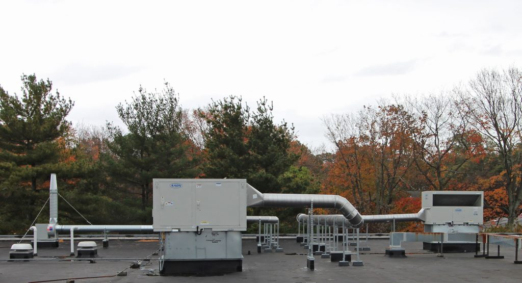 The Endoscopy Center, Hamden CT roof Top Unit Change out