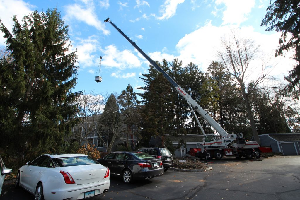 Castle Rock Condominiums, Roof Top Unit Replacement